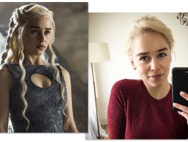 Emilia Clarke ou Daenerys Targaryen? Atriz radicaliza, muda o visual e enlouquece as redes sociais