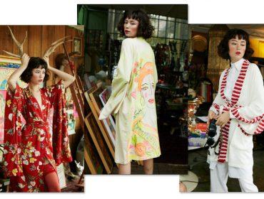 Desejo do Dia:os quimonos para meninas urbanas da marca Kimoh