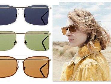 2bf70357d097f Desejo do Dia  a versão quadrada dos óculos de sol aviador by Calvin Klein