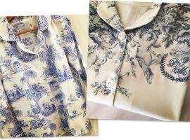 Desejo do Dia: na cama, e toda na moda, com os pijamas daLillas en Provence