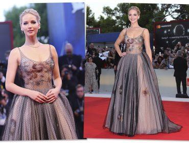 """Com look power e silêncio estratégico, Jennifer Lawrence rebate a vaia ao filme """"Mãe!"""""""