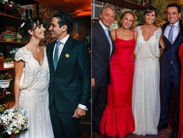 Lenny Niemeyer celebra casamento de apresentadora – e leva todos às lágrimas