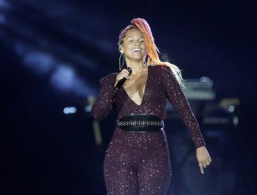 Sem make, Alicia Keys foi a grande diva do primeiro fim de semana de Rock in Rio