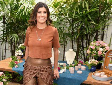 Natacha Barbosa comemoraram parceria com e-commerce com agito entre glamurettes