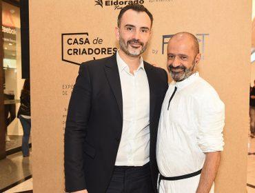 """Turma da moda se reúne no cocktail de abertura da mostra  """"Casa de Criadores, 20 Anos"""""""