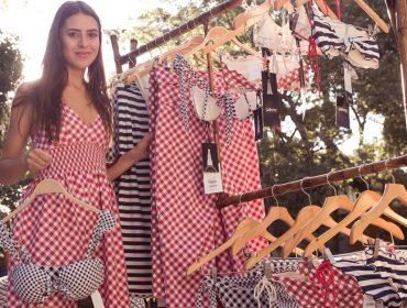 Gallerist arma cocktail no Jardim Europa para lançar parceria com marca de beachwear