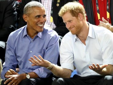 Pauta do encontro entre Obama e Harry no fim de semana foi… Meghan Markle! Oi?