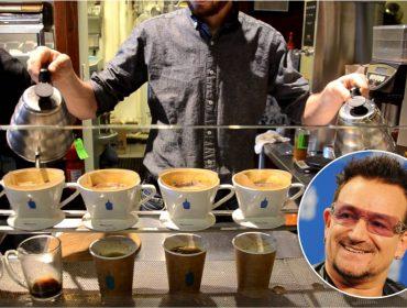 Bono e outros famosos lucraram alto com venda da Blue Bottle Coffee para a Nestlé