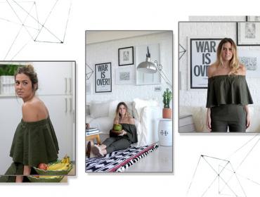 A glamurette carioca Marcella Birman mostrou sua casa pra gente: pode entrar!