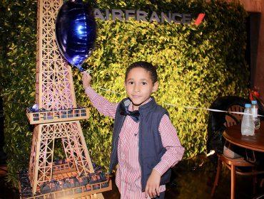 Air France levou um pouquinho da França para nossa festa de 11 anos da Revista J.P