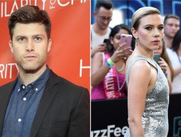 Deu match! Scarlett Johansson faz primeira aparição pública com novo namorado