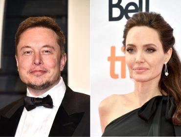 Angelina Jolie e Elon Musk, cofundador da Tesla, estão se conhecendo melhor…