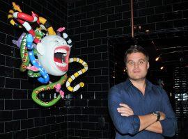 Obras de Flavio Rossi vão dar toque surrealista ao restaurante Canndele