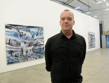 Artista holandês Gerben Mulder abriu exposição na Galeria Fortes D'Aloia & Gabriel