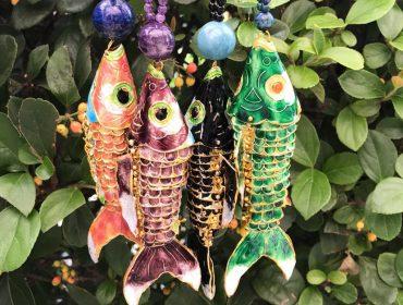 Desejo do Dia: os colares de peixe da KG Brand de Kathleen Guerekmezian