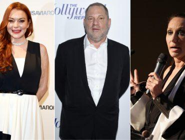 Donna Karan e até Lindsay Lohan saem em defesa de Harvey Weinstein e se queimam com o público