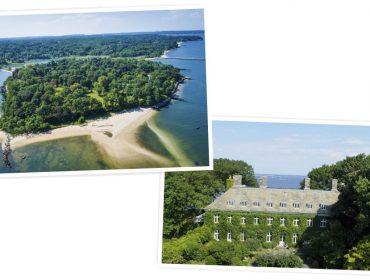 Conheça a ilha histórica de Long Island que está à venda por quase R$ 400 milhões