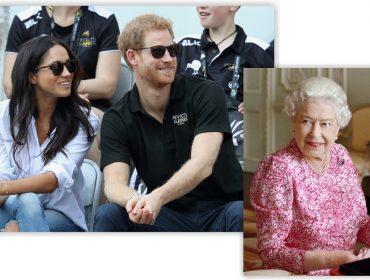 Harry levou Meghan Markle ao Palácio de Buckingham para tomar chá com a rainha