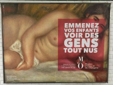 """""""Tragam seus filhos para ver gente nua"""", avisam dois museus famosos de Paris"""