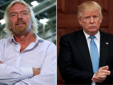Novo livro de Richard Branson contém carta malcriada que ele recebeu de Trump