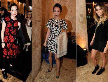 Alfaiataria e florais estilizados foram destaques entre as bem vestidas da festa da Revista J.P