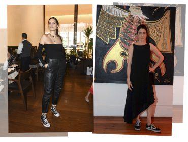 Em semana marcada por moda, bem vestidas apostam em visual street-chic
