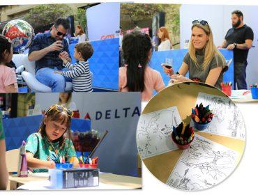 Lounge Vip da Delta Air Lines aterrisou no Piquenique Glamurama nesse domingo