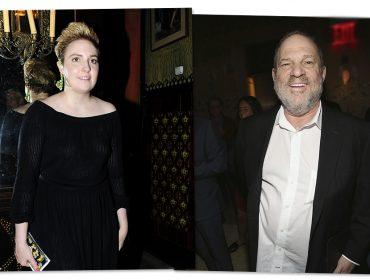 Lena Dunham pede que os homens poderosos de Hollywood se posicionem contra Harvey Weinstein