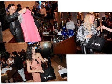 Alaphia presenteia glamurettes na festa de 11 anos da J.P com peças de sua 1ª coleção