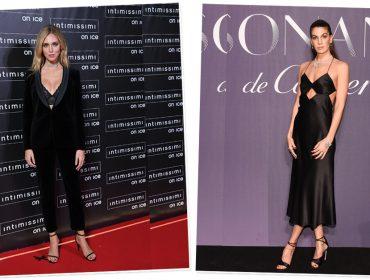 Bem vestidas ao redor do mundo apostam no clássico preto em produções ousadas