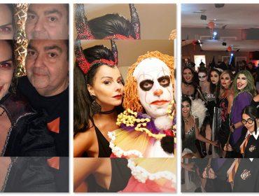 Faustão abriu sua casa no Morumbi para festão de Halloween, mas dispensou a fantasia…