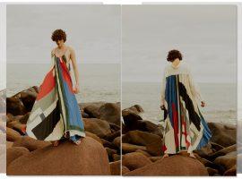 Vanda Jacintho lança coleção inspirada na tapeçaria de Genaro de Carvalho e nos jardins de Burle Marx