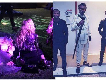 Madonna fica enlouquecida por um certo brasileiro na festa na casa de Luciano Huck. Glamurama entrega quem é ele