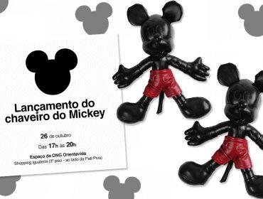 Ong Orientavida lança edição limitada de chaveiros do Mickey