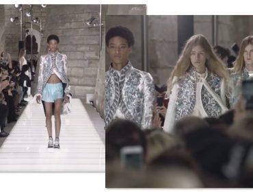 Americana Janaye faz história como a 1ª modelo negra a abrir um desfile da Louis Vuitton