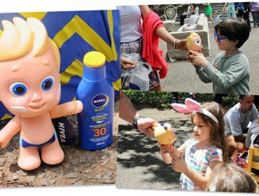 Nivea apresenta seus Dolls para conscientizar glamuzinhos sobre a importância da proteção solar