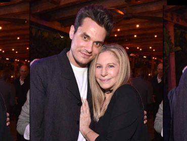 John Mayer ganha bolo de aniversário no Rio e homenagem de Barbra Straisand