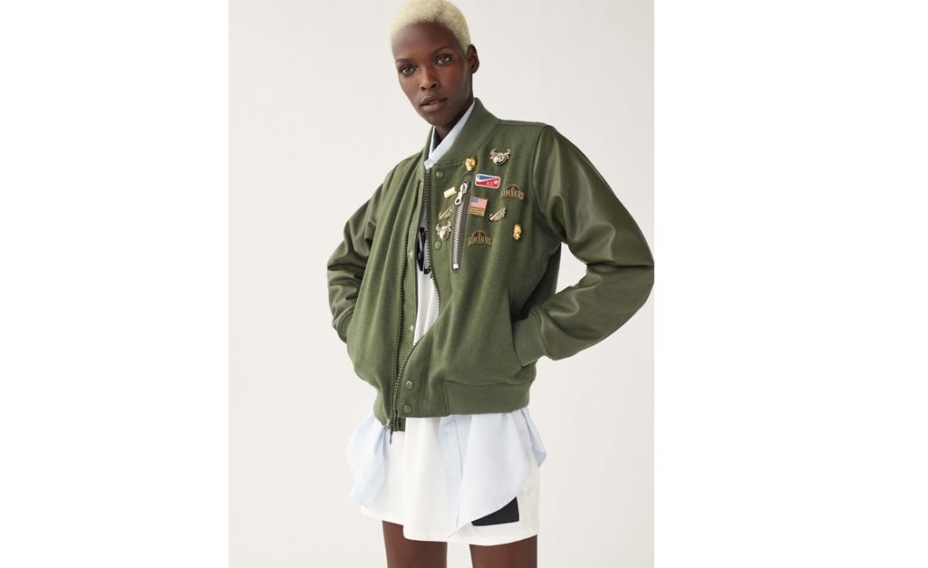 aa75ce6587 Desejo do Dia  jaqueta bomber da nova coleção de Riccardo Tisci para ...