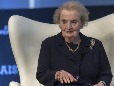 Madeleine Albright confirma presença em encontro com empresárias poderosas