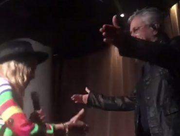 "No Brasil, Madonna reverencia Caetano Veloso e se declara: ""I Love You"""