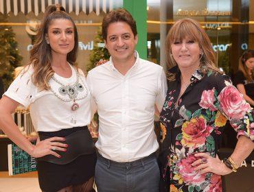 Traudi Guida recebe convidados para celebrar a abertura de sua loja SouQ no Iguatemi São Paulo