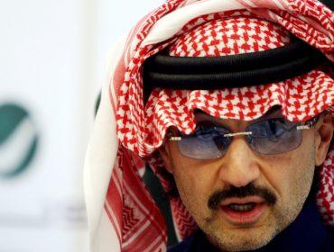 Preso no fim de semana, príncipe Alwaleed ficou US$ 1,2 bi menos rico nesta segunda
