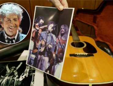 Violão que já pertenceu a Bob Dylan é vendido em leilão por mais de R$ 1 milhão