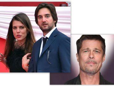 Apontada como novo affair de Brad Pitt, Charlotte Casiraghi não está nem aí para o ator