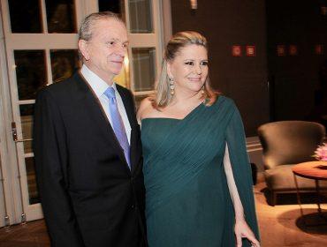 A festa da Unibes que oficializou Denise Zaclis Antão como nova presidente