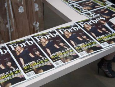 """Fundada há 100 anos, """"Forbes"""" vai reduzir o número de edições anuais em 2018"""