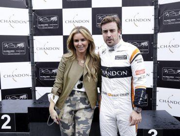 Chandon arma esquenta para Grande Prêmio do Brasil com corrida de kart com pilotos da McLaren