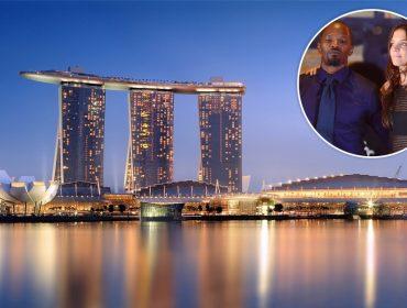 Tudo indica que Katie Holmes e Jamie Foxx vão passar o Ano Novo em Cingapura