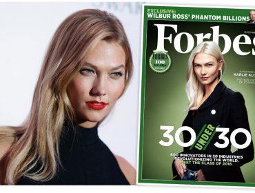 """Segundo a """"Forbes"""", Karlie Kloss é uma das pessoas mais inovadoras do mundo"""