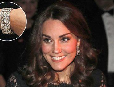 Elizabeth II emprestou joia de R$ 6,4 mi para Kate Middleton usar em jantar de gala